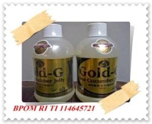 Obat Radang Usus Herbal Nan Alami Dari Jelly Gamat Gold-G Bio sea cucumber terbaik